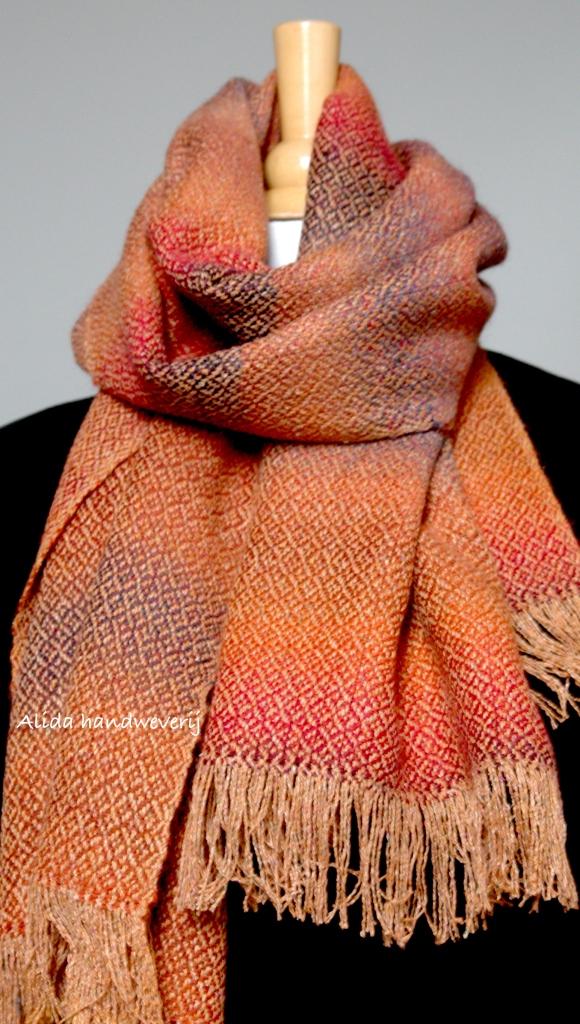 bourettezijde indische sjaal 15:1