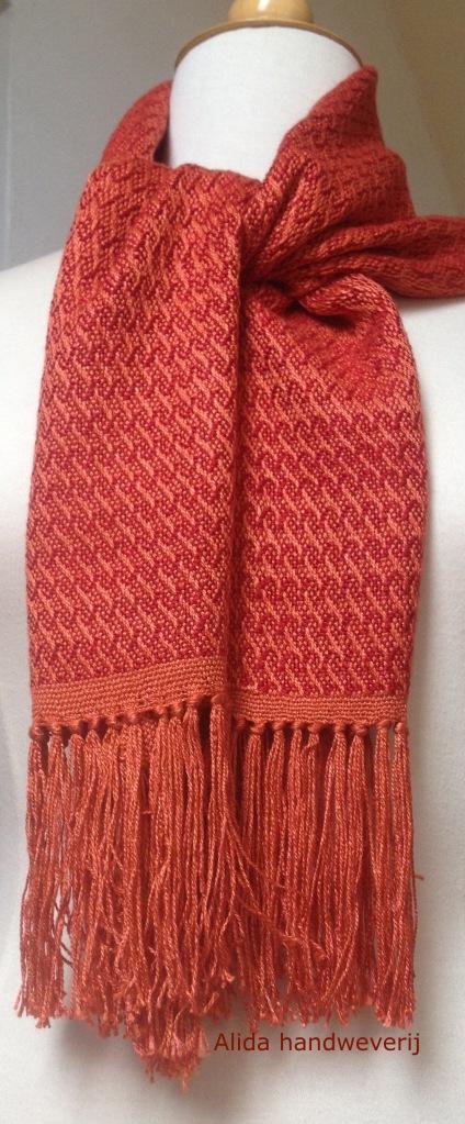 sjaal zijde, 140 x 28 cm