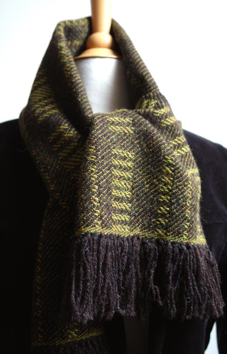 sjaal 2 bg knoop