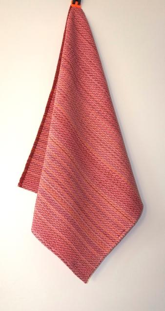 roze-handdoek