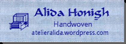 Katoenen label Handwoven Alida
