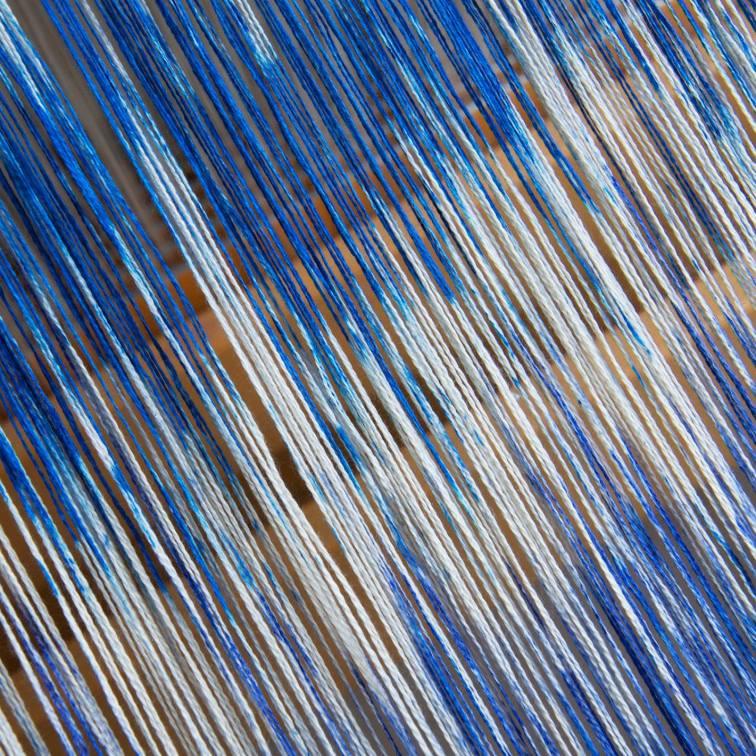 blauw op de octado