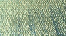 detail zeegroene zijde