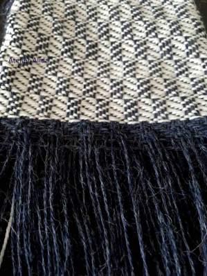 alpaca zijde shawl blokkeper